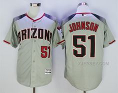 http://www.xjersey.com/diamondbacks-51-randy-johnson-grey-flexbase-jersey.html DIAMONDBACKS 51 RANDY JOHNSON GREY FLEXBASE JERSEY Only $40.00 , Free Shipping!