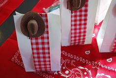Favor Idea for Toy Story or Cowboy Birthday Party