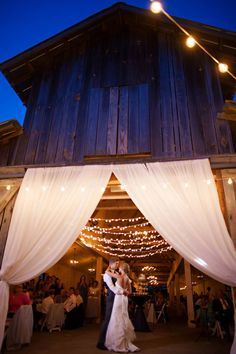 barn wedding ideas, There are a lot of cute details in this wedding, especially how they made the signs rustic looking but still unique.