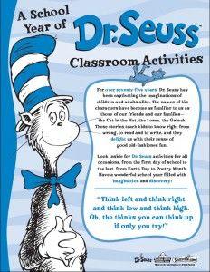 » Dr. Seuss Back-to-School Kit