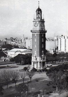 El Parque Japonés en su segunda ubicación frente a la plaza Britania. Foto del 20 de julio 1942