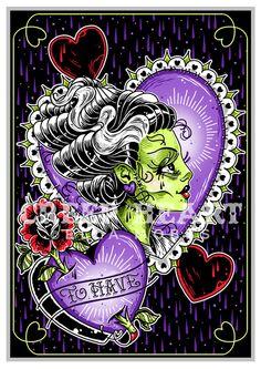 'To Have' Fine Art Print | Creep Heart