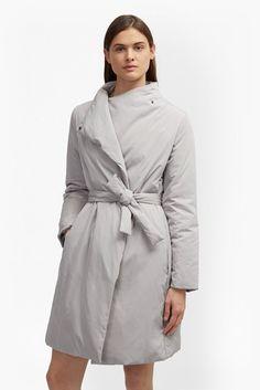 French Connection: Verbier Duvet Wrap Coat