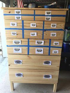 Cheaper And Better: Ikea Tarva Hack   Turn This Plain Dresser Into A Faux  Printeru0027s