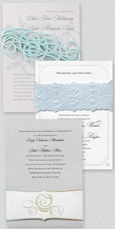 The Disney Fairy Tale Weddings Invitation Collection from Invitations by Dawn! Invitations inspired by every princess from Cinderella to Queen Elsa. Fairytale Wedding Invitations, Cinderella Wedding, Cheap Wedding Invitations, Princess Wedding, Wedding Stationery, Wedding Goals, Our Wedding, Wedding Planning, Dream Wedding