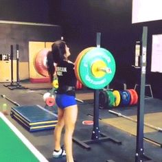 Lauren Fisher: 118kg Front Squat PR (260lbs)! Just in time for Junior Worlds coming up. Double body weight coming soon…
