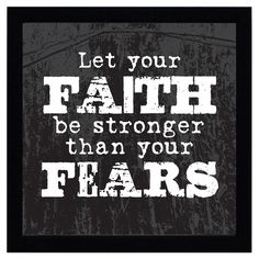 Faith is the inner core power of strength. Found it at Wayfair - Let Your Faith Art Print Bible Verses Quotes, Words Quotes, Wise Words, Sayings, Scriptures, Youth Group Rooms, Youth Ministry, Joy Of The Lord, Spiritual Wisdom