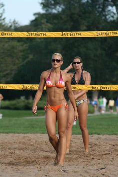 Holy crap!  Is this person real?!  Can you get a body like that just from playing volleyball?!