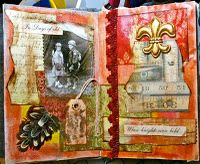 Altered - Assemblage - Mixed Media - Art Journal - sketchbook pages