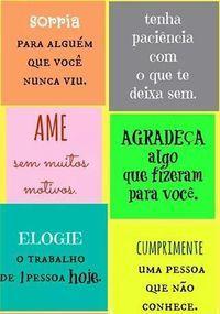 E seja feliz :)
