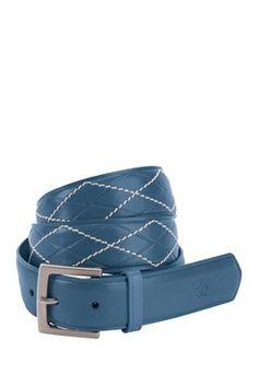 Argyle Leather Belt