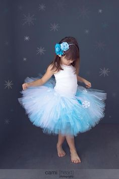 For Ella's Birthday or Halloween  This is hands down the prettiest Frozen tutu out there!