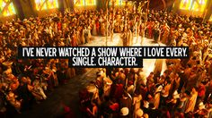 every...single...character. even the villains. I root for them all to find happiness and love.