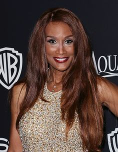 Model Beverly Johnson attends the 2015 InStyle and Warner Bros 72nd Annual Golden Globe Awards PostParty at The Beverly Hilton Hotel on January 11...