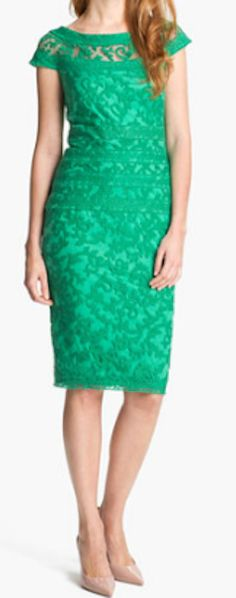Lace sheath dress http://rstyle.me/n/ki82dnyg6