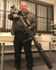 Found this on Firearms And Tactical Consultants facebook page. It is a Victrix Armaments .50bmg rifle with a ridiculously large suppressor on the end. My new entry rifle from @victrix_armaments , suppressed 50 BMG. #victrixarmaments #beretta I am not sure who made that suppressor. A simple google search for .50bmg suppressors results in suppressors that … Read More …