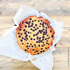 Clafoutis blauwe bessen - Puur Homemade by Cilla Tibbe - www.puurhomemade.nl