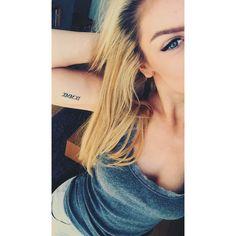 My roman numerals upper arm tattoo  Instagram: @emmanemster    #tattoo #girl #romannumerals #armtattoo