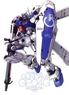 Gundam GP-04 #mecha – https://www.pinterest.com/pin/343751384042870387/