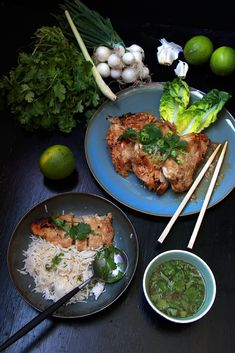 Poulet_citron_thai_devorezmoi_03 Thai Recipes, Asian Recipes, Thai Street Food, Asian Cooking, World Recipes, Palak Paneer, Curry, Easy Meals, Menu