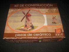 Kit De Construccion Block Cuit - Piezas Ceramica Molino Old Cottage