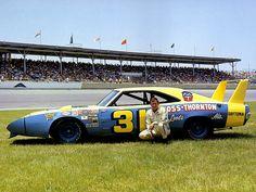 NASCAR Driver Jim Vandiver and a 1969 Dodge Charger Daytona
