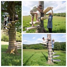 Diy home decor Diy home decor Tree House Plans, Cool Tree Houses, Woodworking For Kids, Backyard Playground, Tree Tops, Outdoor Projects, Outdoor Fun, Play Houses, Backyard Landscaping