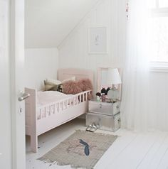Precious room for baby girl