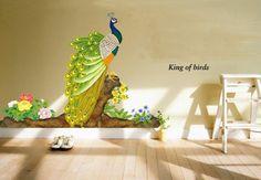 Peacock Bird #Wall Stickers #Amazon India