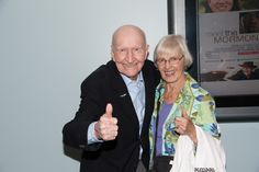 #TheCandyBomber, Gail Halvorsen and his wife at the #MeetTheMormons movie premiere. Learn more at meetthemormons.com