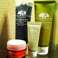 Origins has great products for great skin. Highly recommend trying Orgins! <3