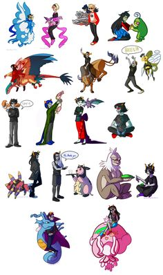 Pokemon and Homestuck in the same world.