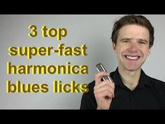 3 top super-fast blues licks for C harmonica (Essential blues harmonica lessons) - YouTube