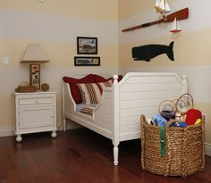 perfect bed for a nautical room!
