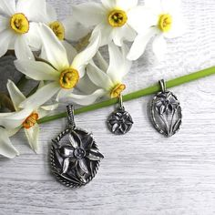 Bad, Belly Button Rings, Jewelry, Daffodils, Dirndl, Silver, Handarbeit, Nature, Nice Asses