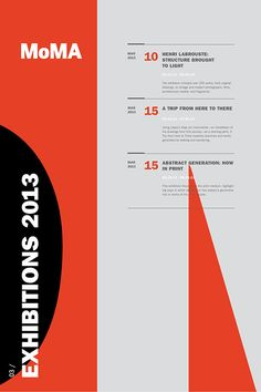 Best Moma Exhibit Poster Series images on Designspiration Poster Design Layout, Print Layout, Graphic Design Layouts, Graphic Design Posters, Graphic Design Inspiration, Brochure Design, Art Exhibition Posters, Museum Exhibition, Poster