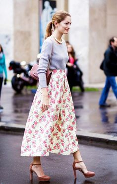 ideas for wearing florals without looking too too