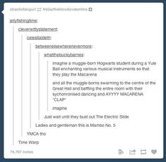 They know how to get the party started. | 15 Times Tumblr Proved Muggleborns Are The Coolest Kids At Hogwarts
