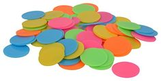 Amit Marketing Plastic Multi Colour Plastic Plain Coin 500PC (5 cm x 2 cm x 5 cm) | Coin and Stamp Collecting Toys and Games | Best news and deals!