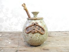Hey, I found this really awesome Etsy listing at https://www.etsy.com/listing/246385747/honey-pot-pottery-ironstone-stoneware