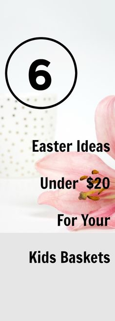 6 Easter Idea's under $20 for your kids baskets that are not candy. Fill your child's basket without the sugar rush this year.