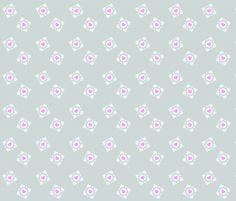 Lovely minimalistic backing fabric for Ashley's quilt? - - - Portal Cubes 1 fabric by clonistudios on Spoonflower - custom fabric