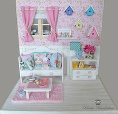 Miniature - Ooak Diorama Shabby Tutubella 9   Flickr - Photo Sharing!