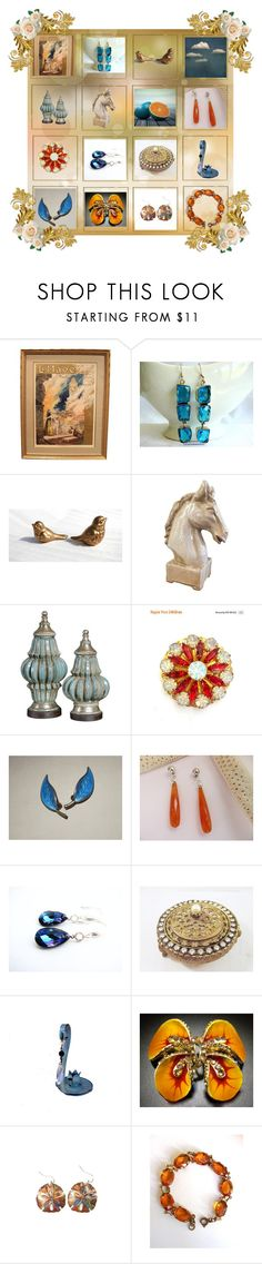 """""""A Complementary Compromise"""" by anna-ragland ❤ liked on Polyvore featuring contemporary and vintage"""