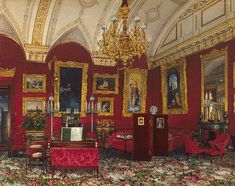 Image result for grand russian old fashioned homes interior