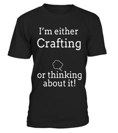 "# Think Crafting T Shirts. Gifts for Crafters. Love to Craft. .  Special Offer, not available in shops      Comes in a variety of styles and colours      Buy yours now before it is too late!      Secured payment via Visa / Mastercard / Amex / PayPal      How to place an order            Choose the model from the drop-down menu      Click on ""Buy it now""      Choose the size and the quantity      Add your delivery address and bank details      And that's it!      Tags: Gifts shirts for…"
