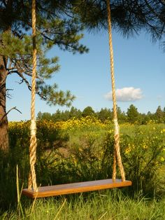we all need a 'grown-up' swing. buy one on etsy or make your own this weekend!