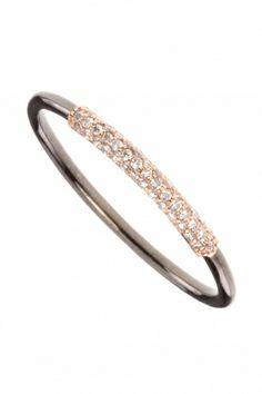 diamantring bicolor