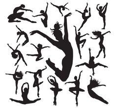 silhouette dancer More