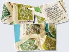 Kouzlo domova: Látkové sáčky na bylinky
